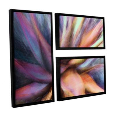 Brushstone Nkeez 3-pc. Flag Floater Framed CanvasWall Art
