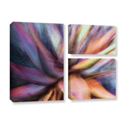 Brushstone Nkeez 3-pc. Flag Gallery Wrapped CanvasWall Art