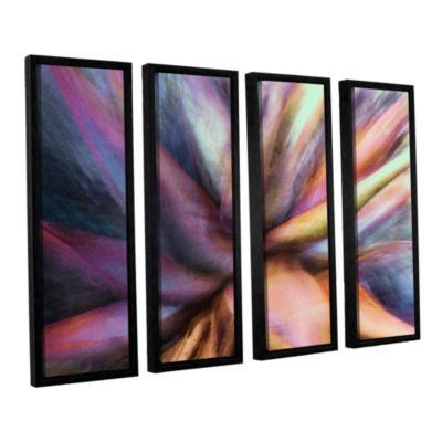 Brushstone Nkeez 4-pc. Floater Framed Canvas WallArt