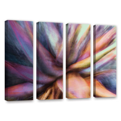 Brushstone Nkeez 4-pc. Gallery Wrapped Canvas WallArt