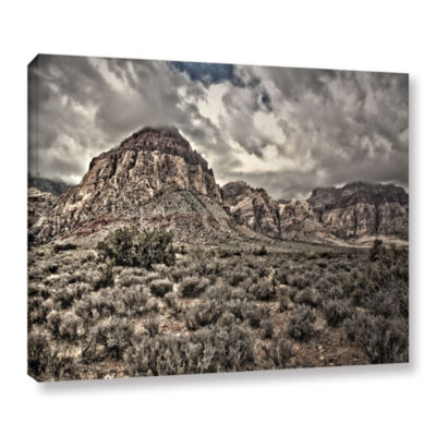 Brushstone No Distractions Gallery Wrapped CanvasWall Art
