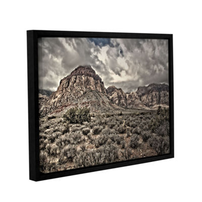 Brushstone No Distractions Gallery Wrapped Floater-Framed Canvas Wall Art