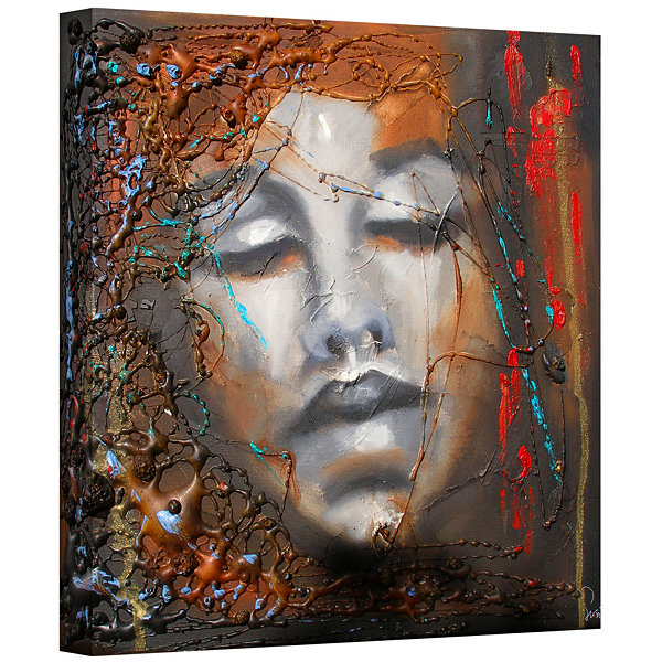 Brushstone No More Sorrow Gallery Wrapped Canvas Wall Art