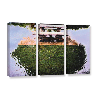 Brushstone No Picnic 3-pc. Gallery Wrapped CanvasWall Art