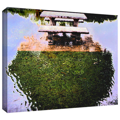 Brushstone No Picnic Gallery Wrapped Canvas Wall Art