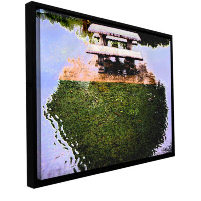 Brushstone No Picnic Gallery Wrapped Floater-Framed Canvas Wall Art