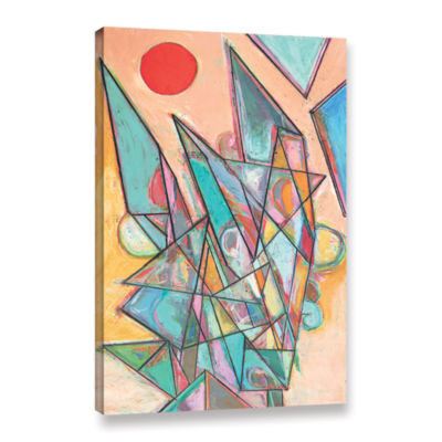 Brushstone Noontime Gallery Wrapped Canvas Wall Art