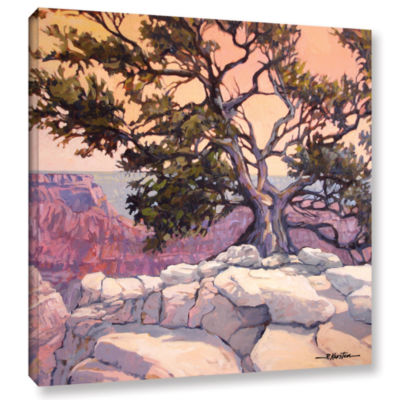 Brushstone North Rim Tree Gallery Wrapped Canvas Wall Art