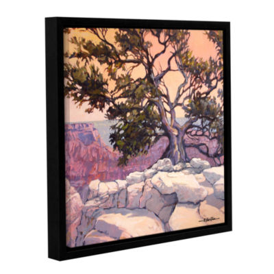 Brushstone North Rim Tree Gallery Wrapped Floater-Framed Canvas Wall Art