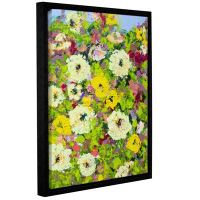 Brushstone Keukenhof Garden Gallery Wrapped Floater-Framed Canvas Wall Art