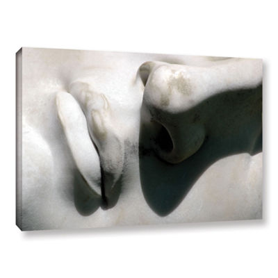 Brushstone Nose And Mouth Gallery Wrapped Canvas Wall Art