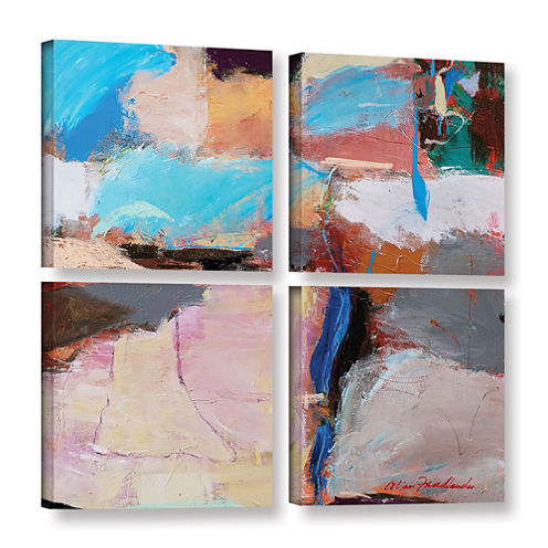 Brushstone Nothing Of Everything 4-pc. Square Gallery Wrapped Canvas Wall Art
