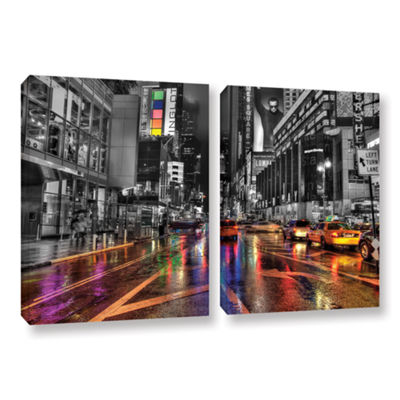 Brushstone NYC 2-pc. Gallery Wrapped Canvas Wall Art