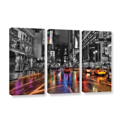 Brushstone NYC 3-pc. Gallery Wrapped Canvas Wall Art