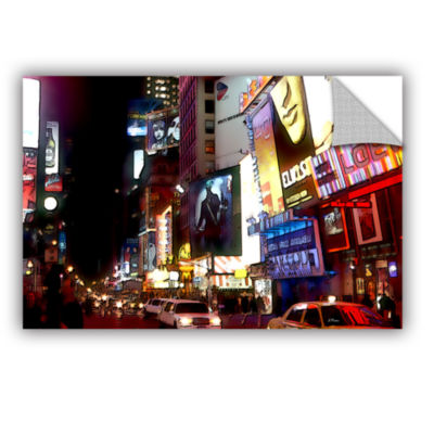 Brushstone NYC Bright Lights Broadway Removable Wall Decal