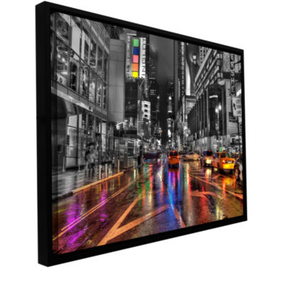 Brushstone NYC Gallery Wrapped Floater-Framed Canvas Wall Art
