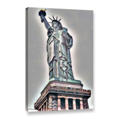 Brushstone NYC Lady Of Light Gallery Wrapped Canvas Wall Art