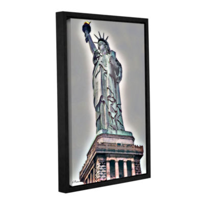 Brushstone NYC Lady Of Light Gallery Wrapped Floater-Framed Canvas Wall Art