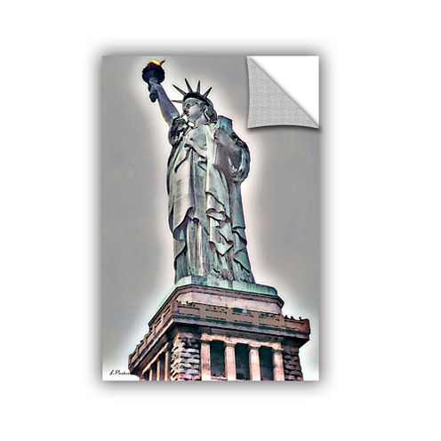 Brushstone NYC Lady Of Light Removable Wall Decal