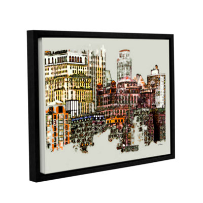 Brushstone NYC Manhattan Cluster Gallery Wrapped Floater-Framed Canvas Wall Art