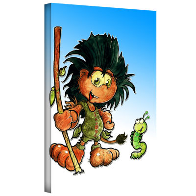 Brushstone Kid Troll Gallery Wrapped Canvas Wall Art