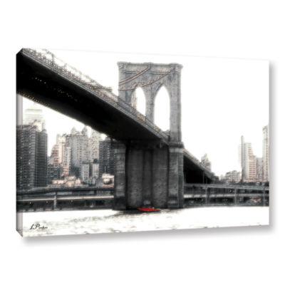 Brushstone NYC's Brooklyn Bridge Gallery Wrapped Canvas Wall Art
