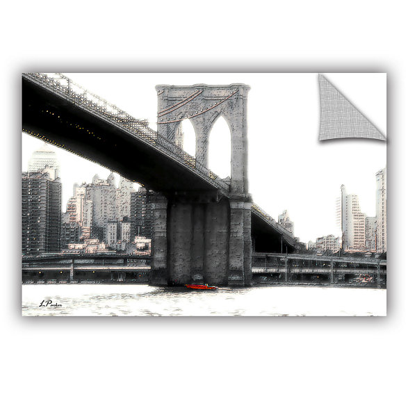 Brushstone NYC's Brooklyn Bridge Removable Wall Decal