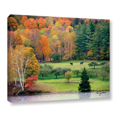 Brushstone Killington Vermont Gallery Wrapped Canvas Wall Art