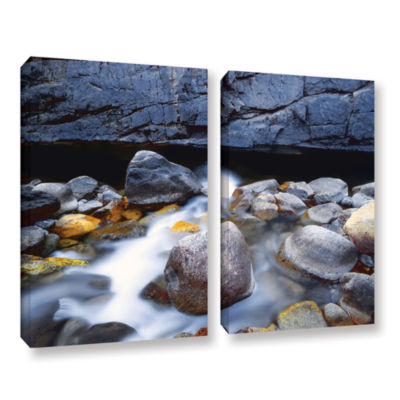 Brushstone Kings River 2-pc. Gallery Wrapped Canvas Wall Art