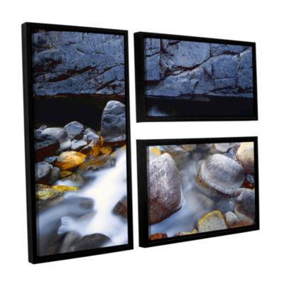 Brushstone Kings River 3-pc. Flag Floater Framed Canvas Wall Art