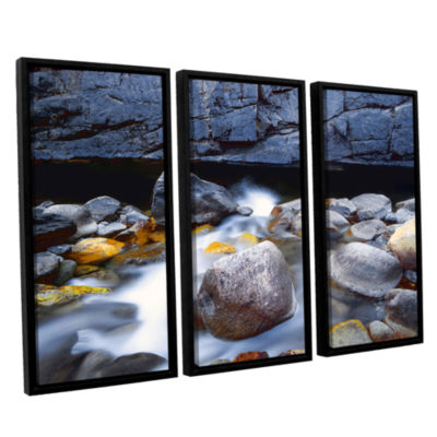 Brushstone Kings River 3-pc. Floater Framed CanvasWall Art