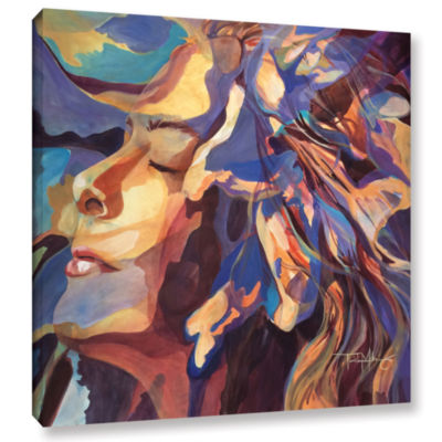 Brushstone Oasis Gallery Wrapped Canvas Wall Art