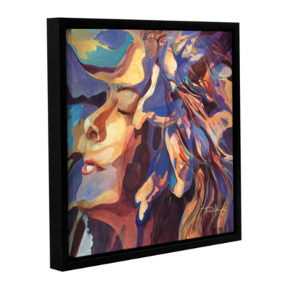 Brushstone Oasis Gallery Wrapped Floater-Framed Canvas Wall Art