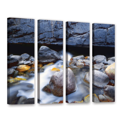 Brushstone Kings River 4-pc. Gallery Wrapped Canvas Wall Art