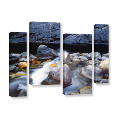 Brushstone Kings River 4-pc. Gallery Wrapped Staggered Canvas Wall Art