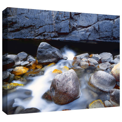Brushstone Kings River Gallery Wrapped Canvas WallArt
