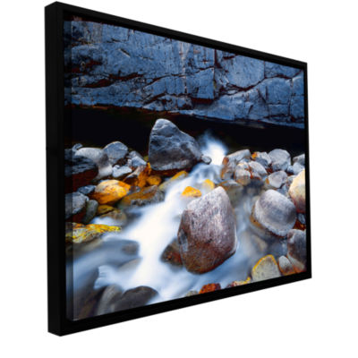 Brushstone Kings River Gallery Wrapped Floater-Framed Canvas Wall Art
