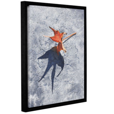 Brushstone Kings Shadow Gallery Wrapped Floater-Framed Canvas Wall Art