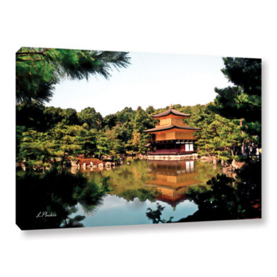 Brushstone Kinkakuji Gallery Wrapped Canvas Wall Art