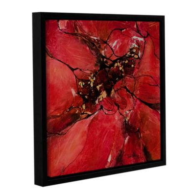 Brushstone Obsession II Gallery Wrapped Floater-Framed Canvas Wall Art