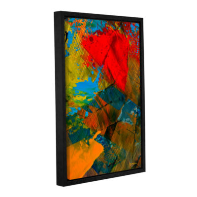 Brushstone Obstacles Of Life Gallery Wrapped Floater-Framed Canvas Wall Art