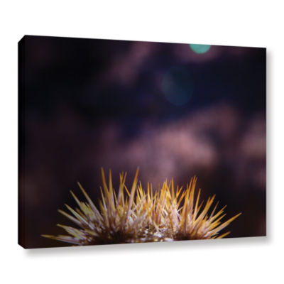 Brushstone Obviousness Has Its Advantages GalleryWrapped Canvas Wall Art