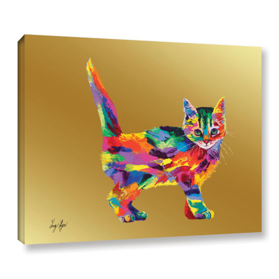 Brushstone Kitty Gallery Wrapped Canvas Wall Art