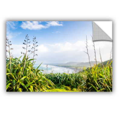 Brushstone Ocean View From Above Removable Wall Decal