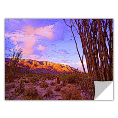 Brushstone Ocotillo Sunset Removable Wall Decal