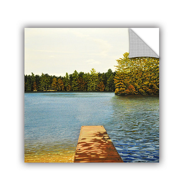 Brushstone Off The Dock Removable Wall Decal