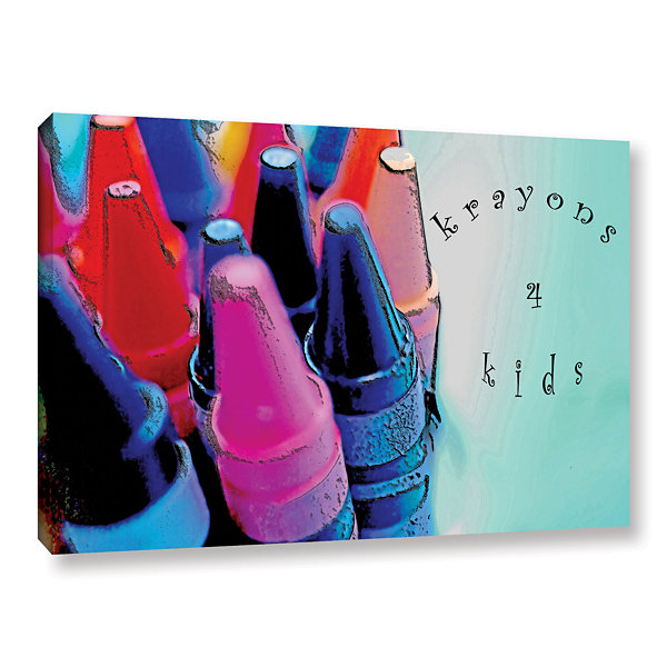 Brushstone Krayons For Kids Gallery Wrapped CanvasWall Art
