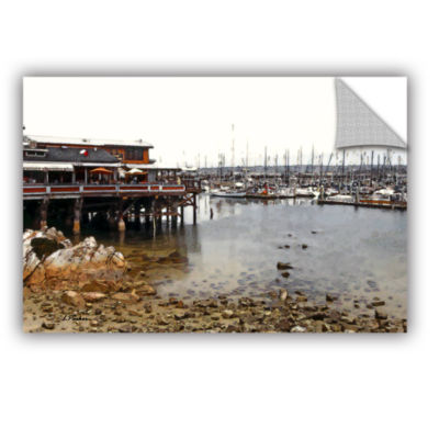 Brushstone Old Fisherman's Wharf - California Removable Wall Decal