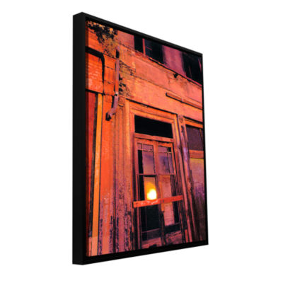 Brushstone Old Sacramento Gallery Wrapped Floater-Framed Canvas Wall Art