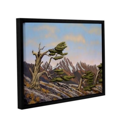 Brushstone Old Timers Gallery Wrapped Floater-Framed Canvas Wall Art